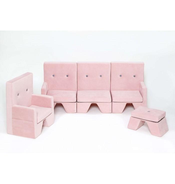 Velvet fabric sofa - Misioo