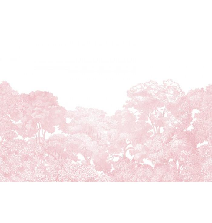 Carta da parati - Bellewood Pink - Rebel Walls