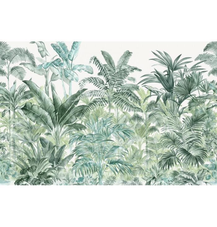 Wallpaper - Prime Palms Emerald - Rebel Walls