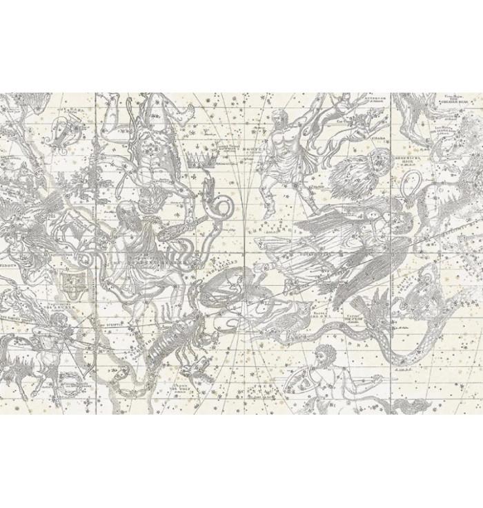 Wallpaper - Star Map White - Rebel Walls