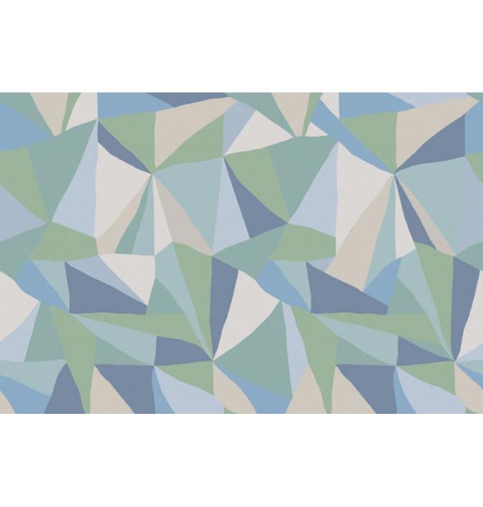 Carta da parati - Retro Geometry Ice - Rebel Walls