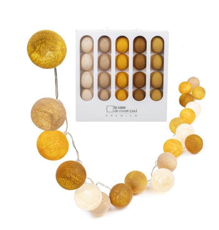 Garland Light Premium 20 balls - La Case de Cousin Paul