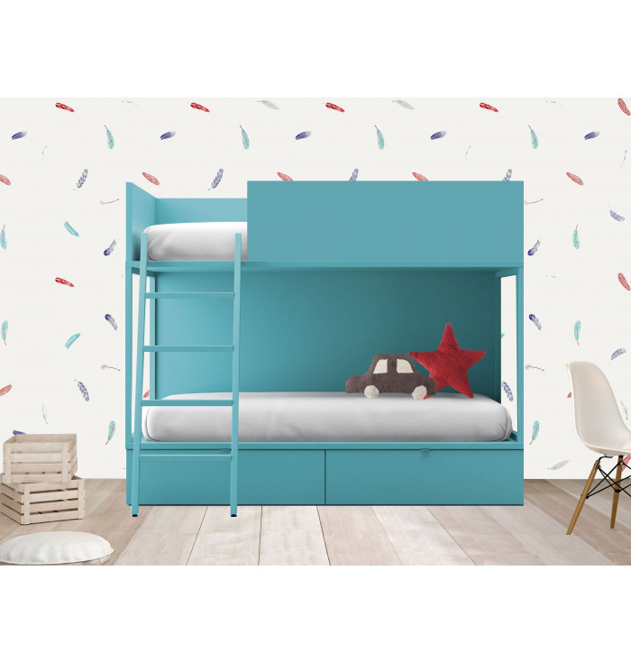 Bunk bed with drawers Vagon - Lagrama