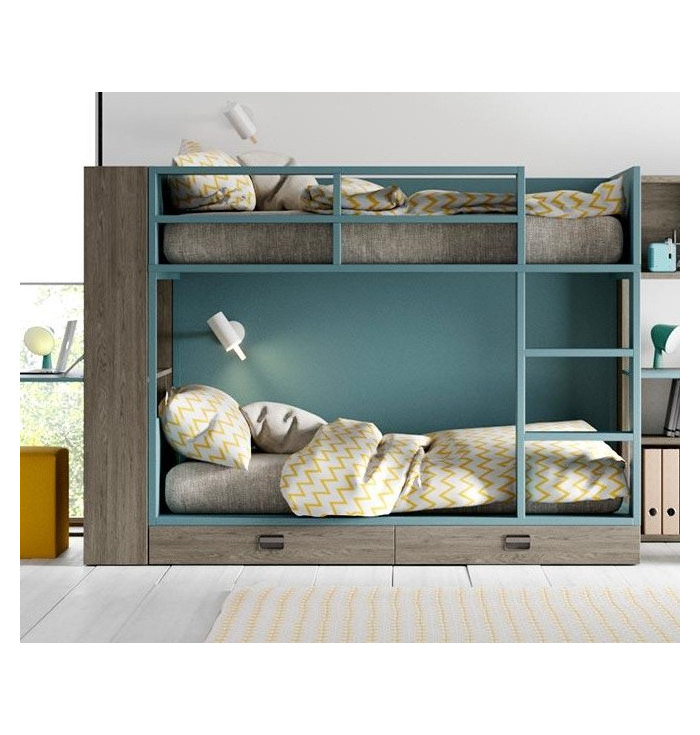 Bunk Bed Flat With Drawers - Lagrama