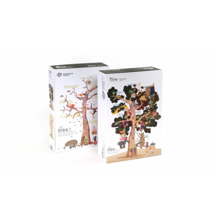 Puzzle 50 pezzi Londji - My tree
