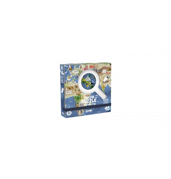 Micro puzzle Londji - World