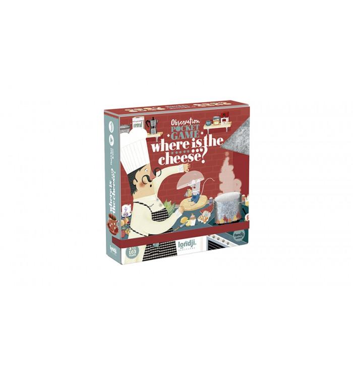 Londji Board game - Where is the cheese?