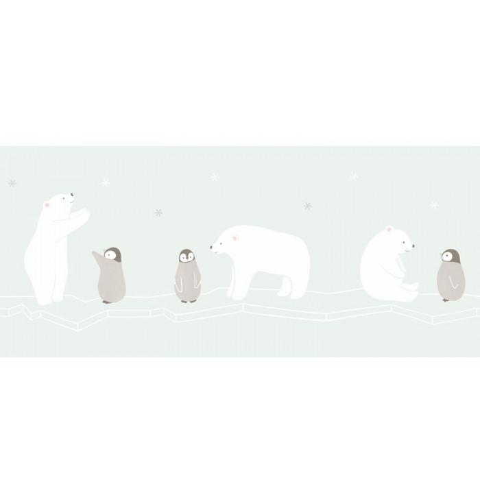 Wallpaper Frize Happy Dreams - Polar bears