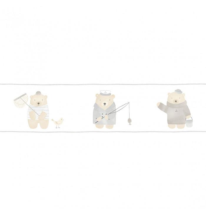 Wallpaper frise My Little World - Bears - Casadeco