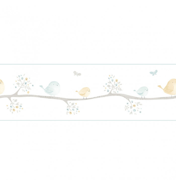 Wallpaper frise My Little World - Birds - Casadeco
