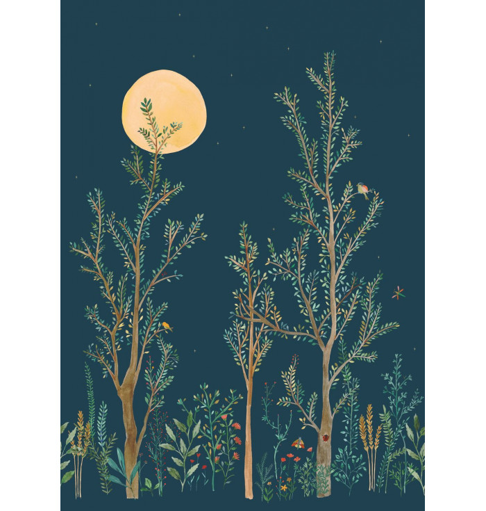 Wallpaper panel - Midnight walk