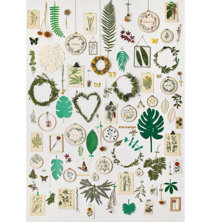 Panel of Wallpaper Sunny day - la vie en green