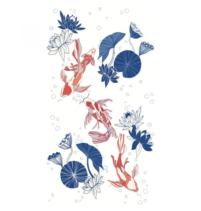 Carta da parati pannello Hanami - Carpe diem - Caselio