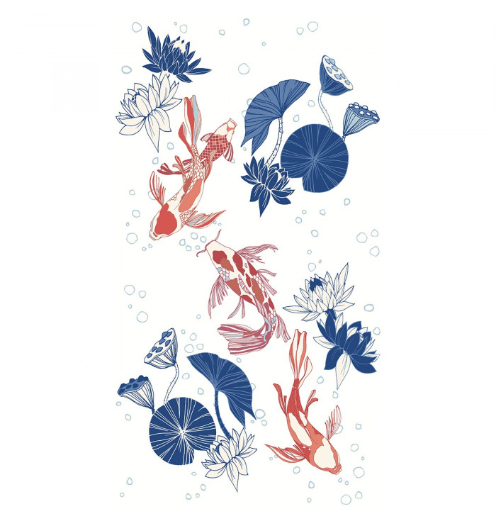 Wallpaper Panel Hanami - Carpe Diem - Caselio
