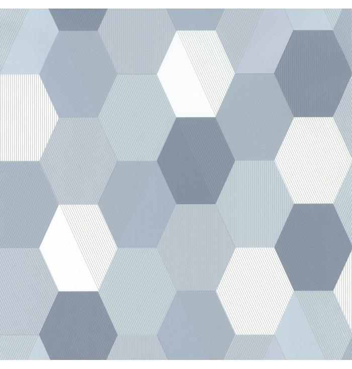 Wallpaper Spaces - Hexagon - Caselio