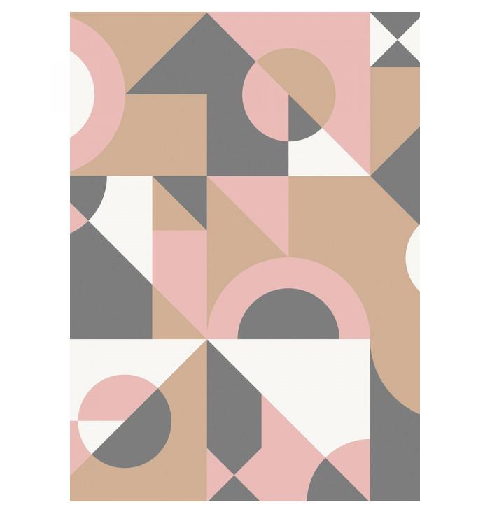 Carta da parati Spaces pannello - Cubisme - Caselio