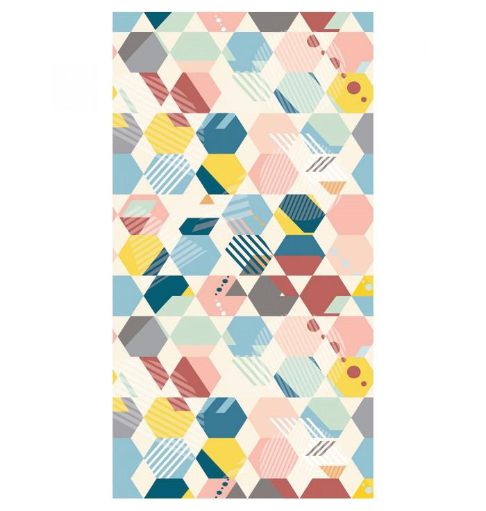 Wallpaper Spaces panel - Mosaique - Caselio