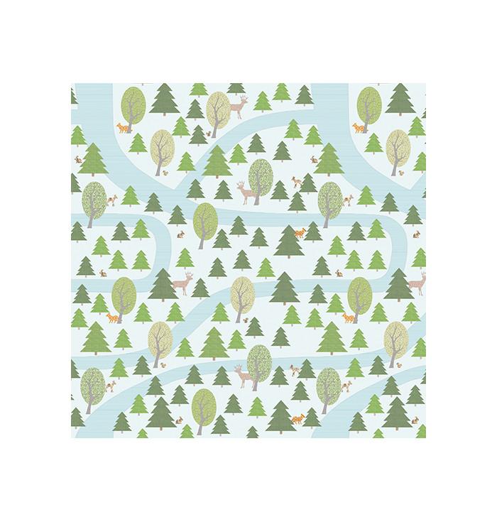 Wallpaper INKE - Woodland