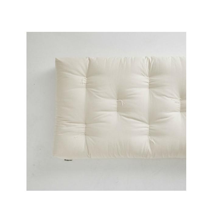 Futon in natural cotton 'Maratasso' - Ettomio