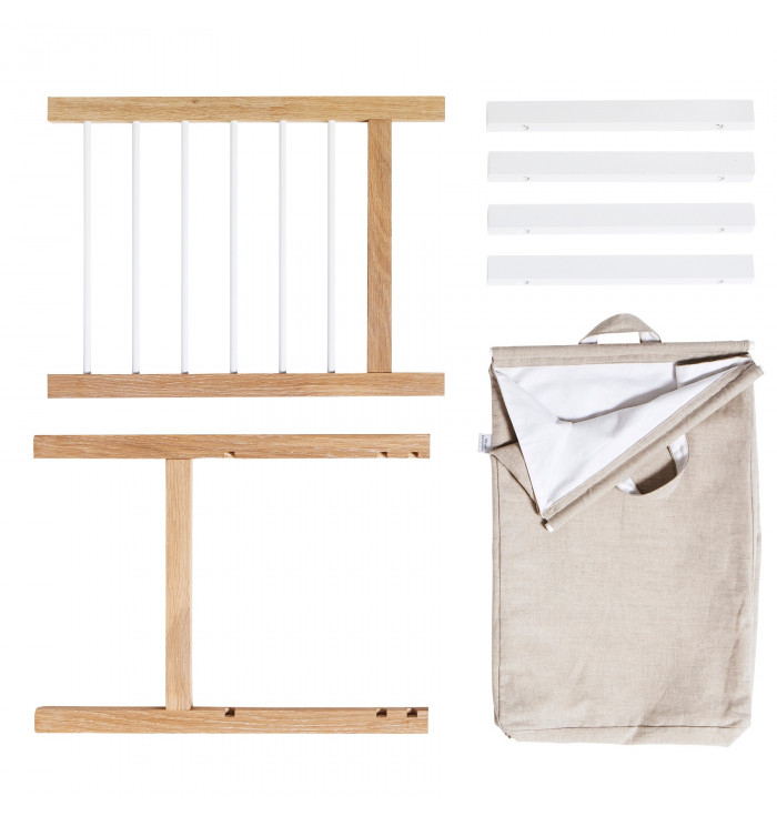 2 pull-outs and laundry bag for Seaside 6 drawers - Oliver Furniture
