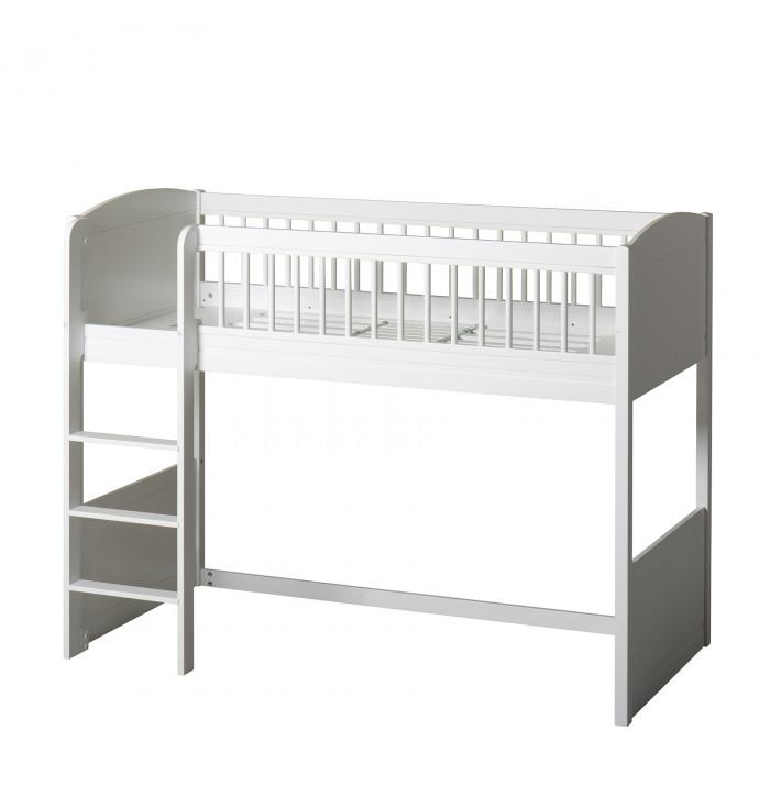Low Loft Bed Seaside Lille+ - Oliver Furniture