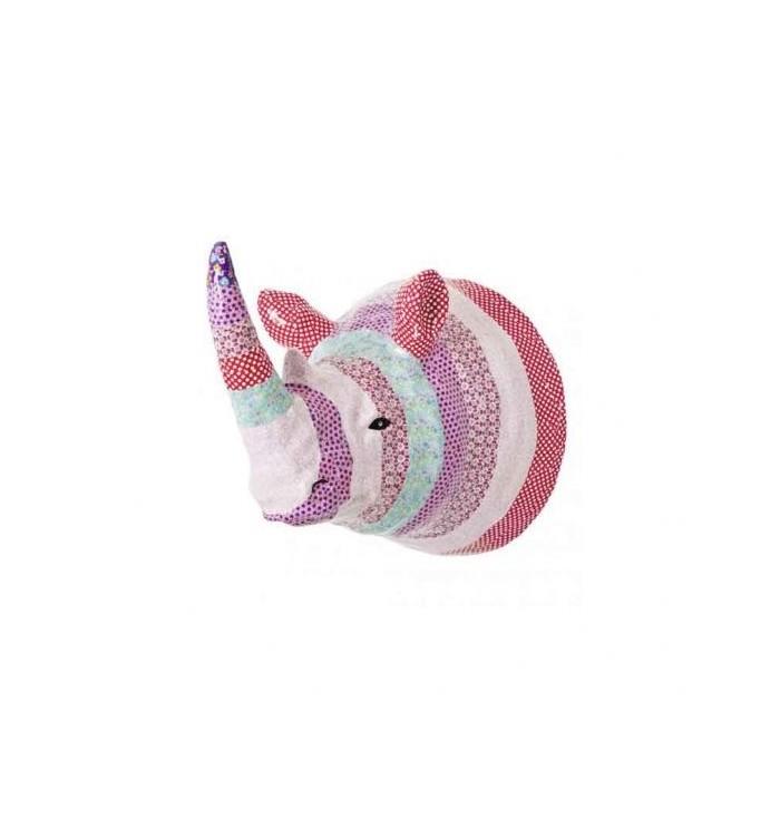 Decorative head - Rhino - Rice DK