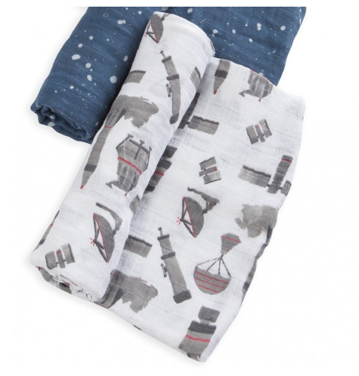 Cotton muslin cover for children
