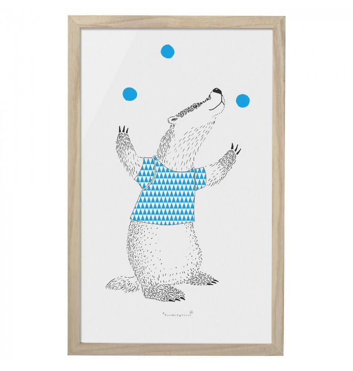 Frame - Happy Badger - Bloomingville