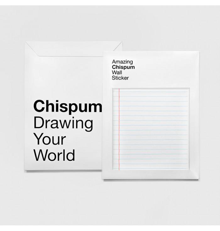 Sticker Riposizionabile Righe - Chispum