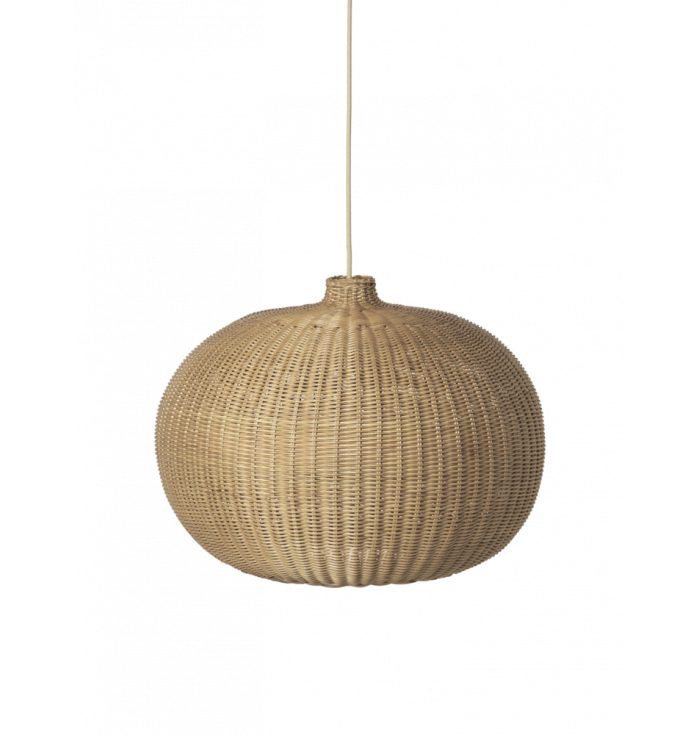 Paralume a cupola in rattan - Ferm Living