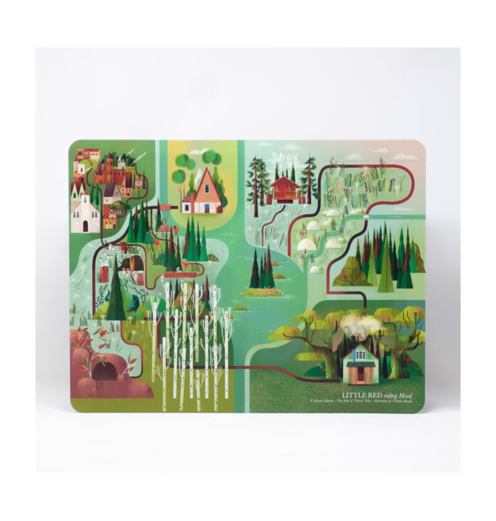 Little Red riding Hood Place Mat - Mondomombo