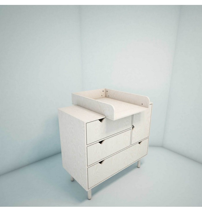 Changing table - Mountain collection - Wood Luck