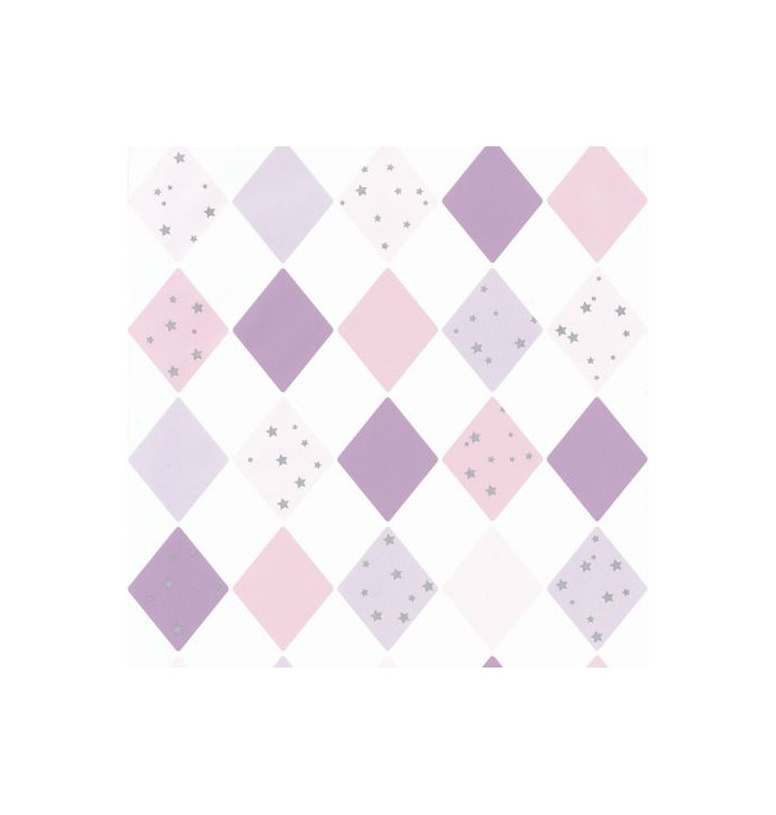 Wallpaper Girl Power - Shine Bright Like a Diamond - Caselio