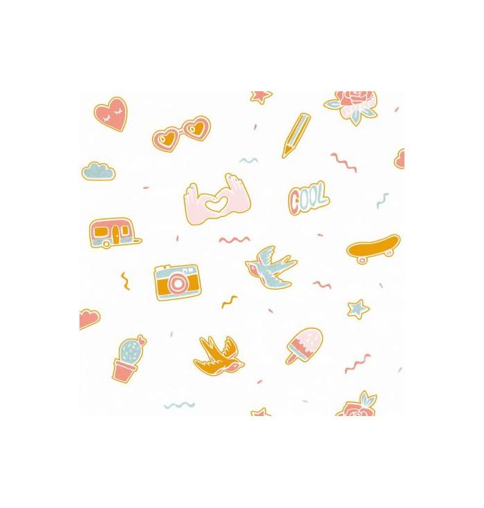 Wallpaper Girl Power - Pin's me - Caselio