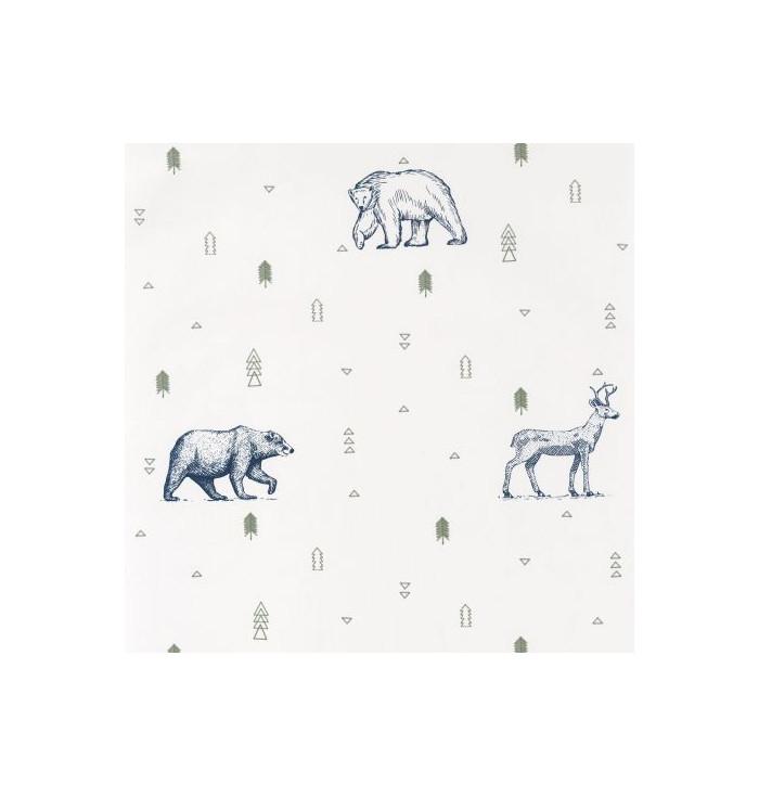 Carta da parati Our Planet - Grizzly Bears - Caselio
