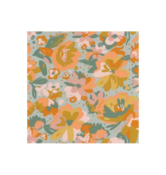 Wallpaper Flower Power - July - Caselio