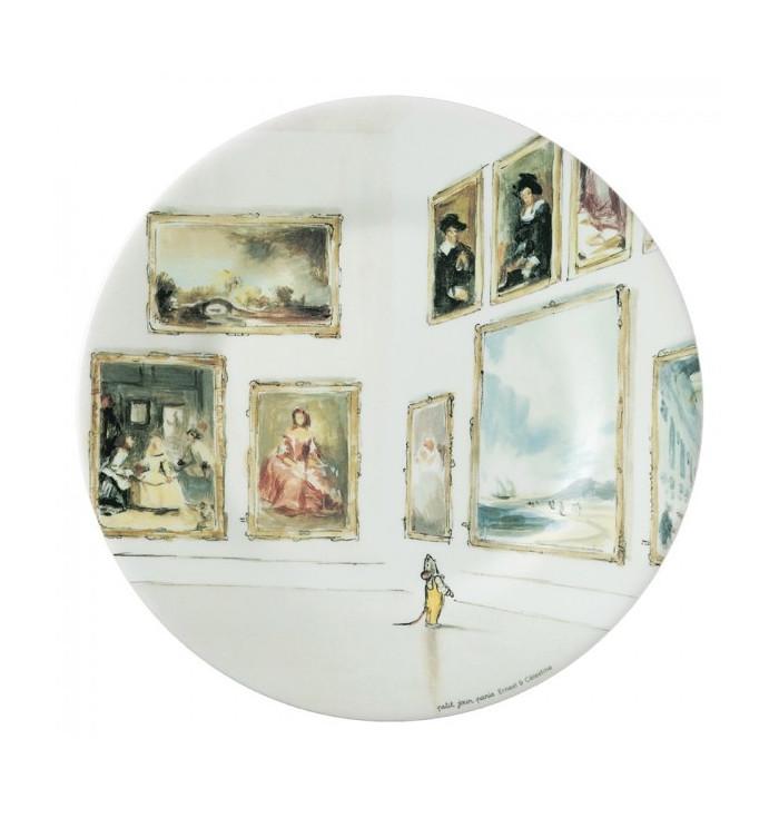 Piattino Ernest e Celestine Nella Galleria - Petit Jour Paris