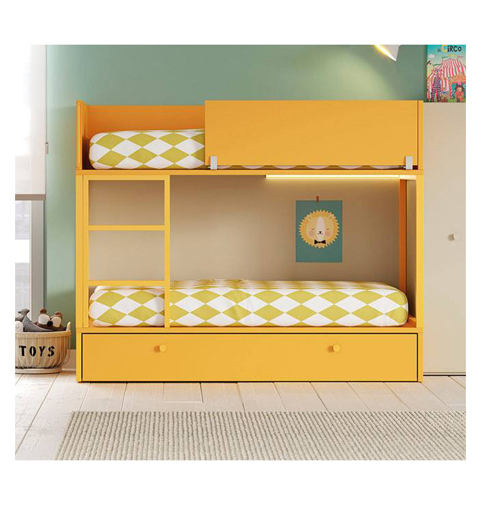 Bunk bed Vagon with third bed - Lagrama