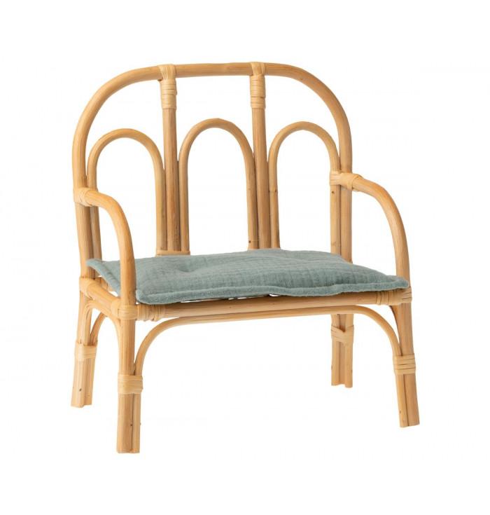 Rattan bench - medium - Maileg