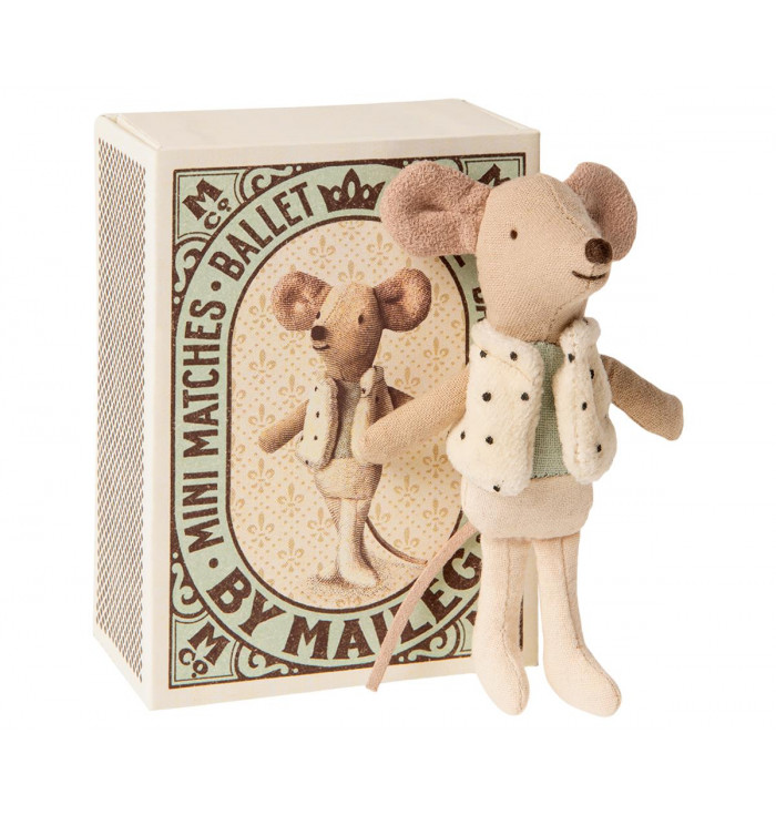 DANCER Mice IN MATCHBOX - Maileg
