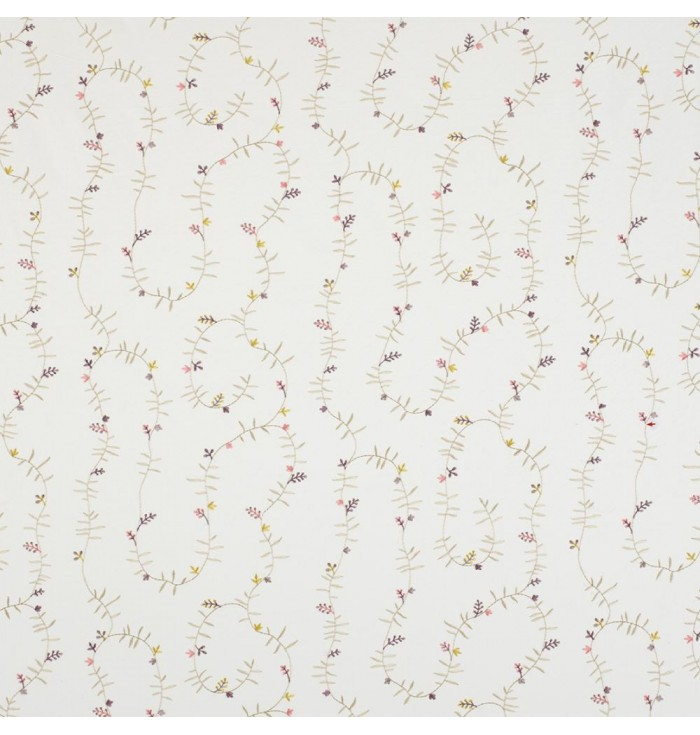 Embroidered Fabric Happy Dreams - Jungle - Casadeco