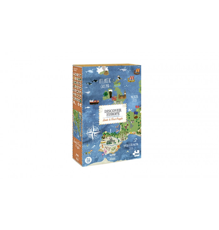 200 pieces Londji Puzzle - Discover Europe