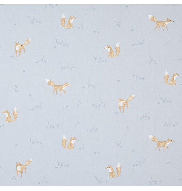 Fabric My Little World - Foxes Renards - Casadeco
