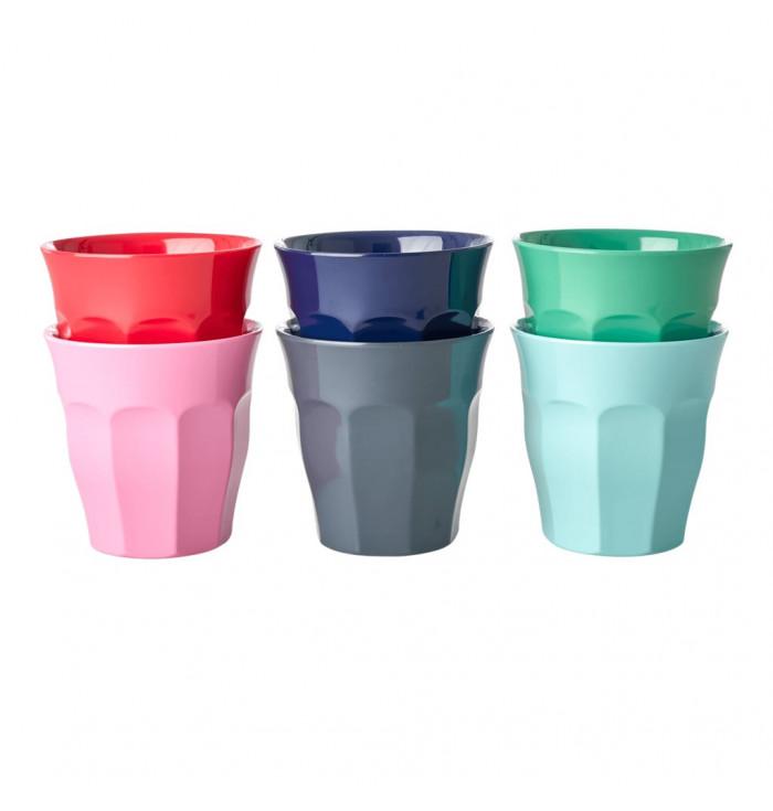 Colorful Melamine Glasses - Small - Rice DK