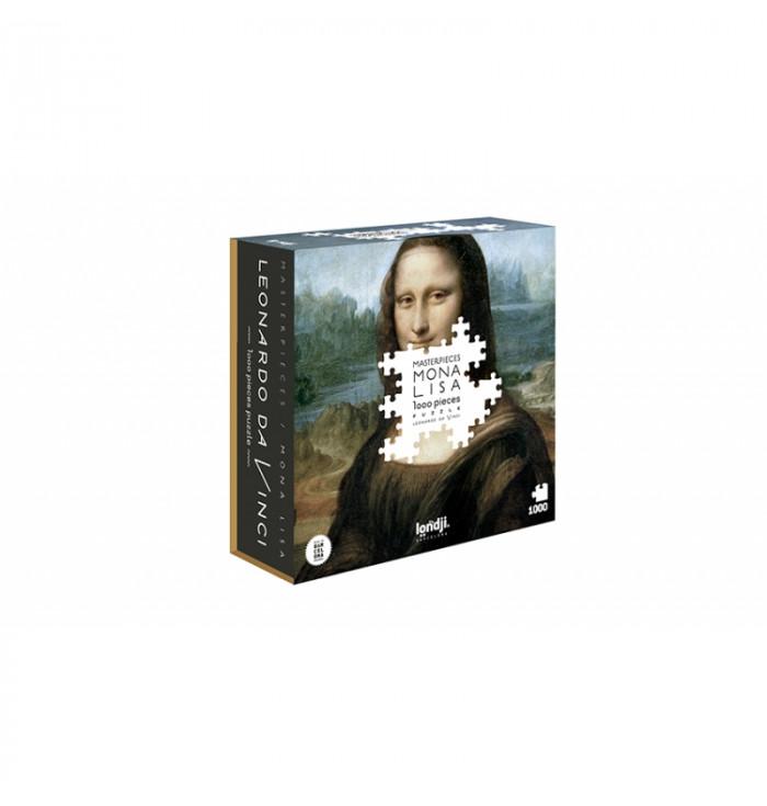 Puzzle 1000 pezzi Londji - Mona Lisa