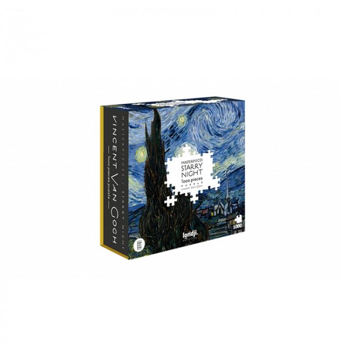 1000 pieces Londji Puzzle - Starry Night