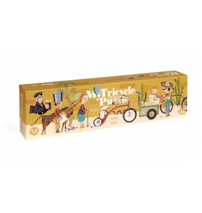 Puzzle 54 pezzi Londji - My tricycle