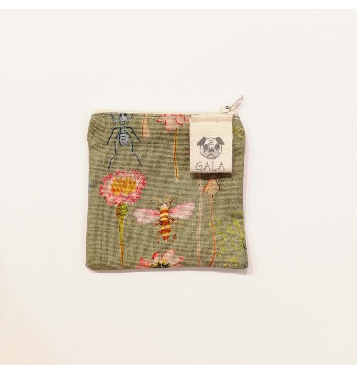 Sachet square meadow and mushrooms - Atelier di Gala