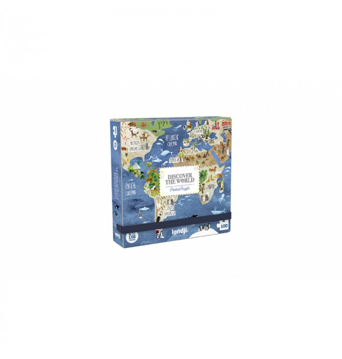 Pocket puzzle Londji - Discover the world