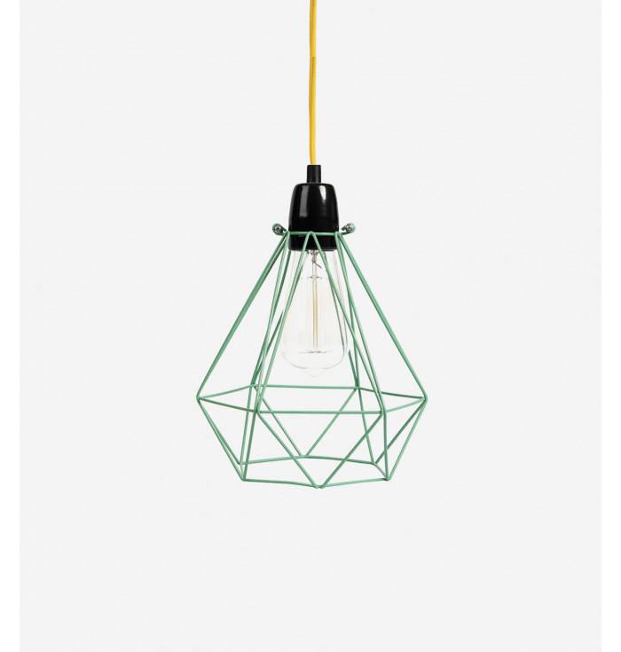 Lampada Diamond 1 menta-Filamentstyle